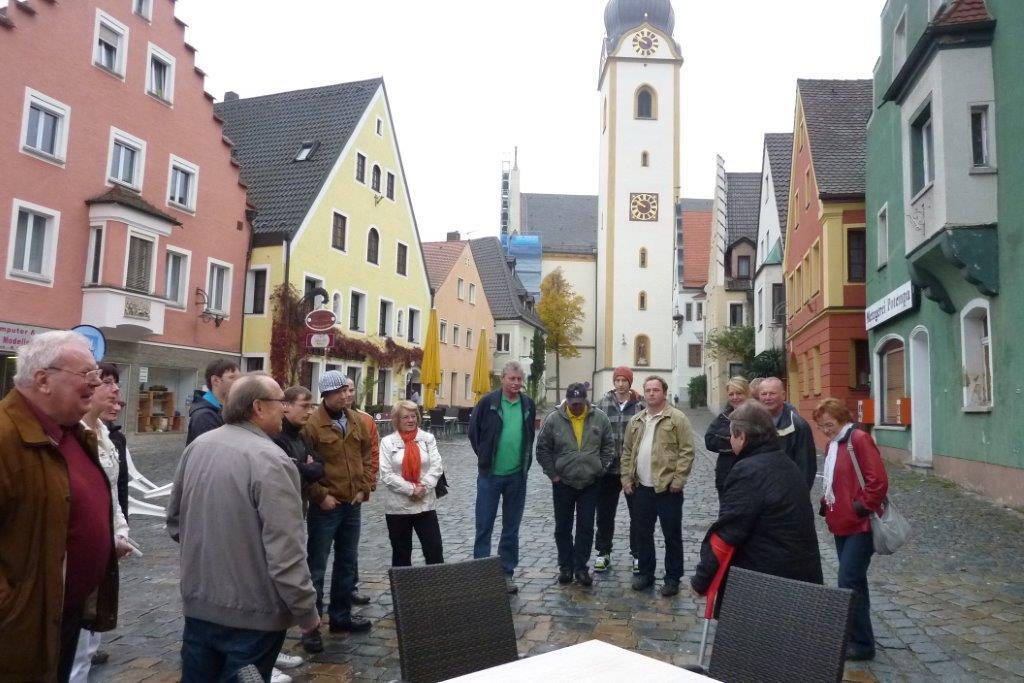 Besichtigung in Schwandorf